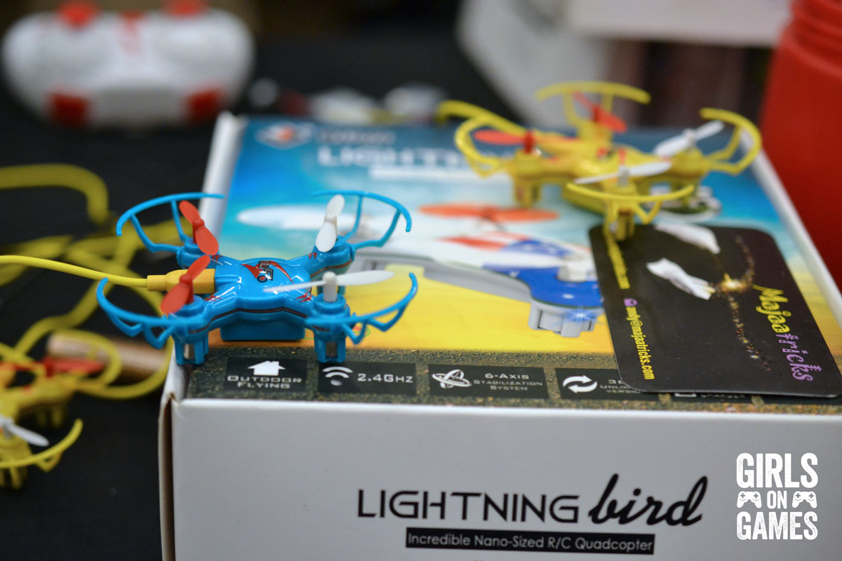 Toy Drones at Montreal Comiccon 2015