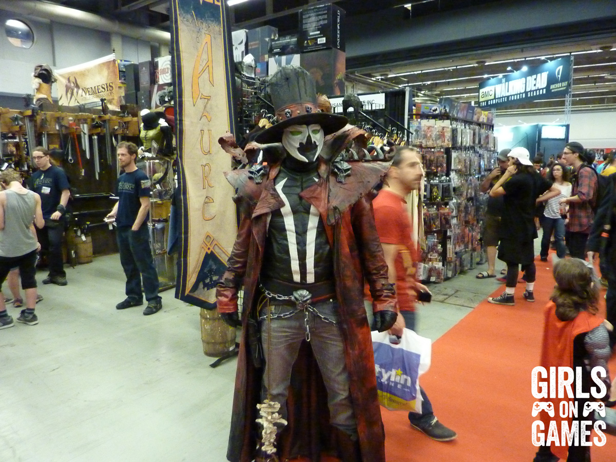Spawn cosplay at Montreal Comiccon 2015. Photo © Nicholas MacDonald / Girls on Games