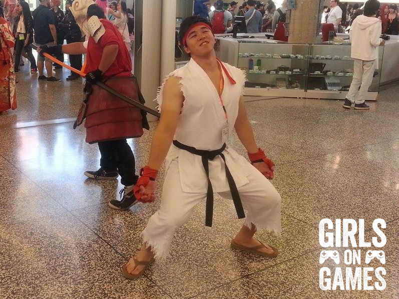Ryu (Street Fighter) cosplay at Otakuthon 2015