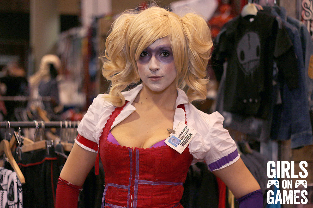 Harley Quinn cosplay at Fan Expo 2015