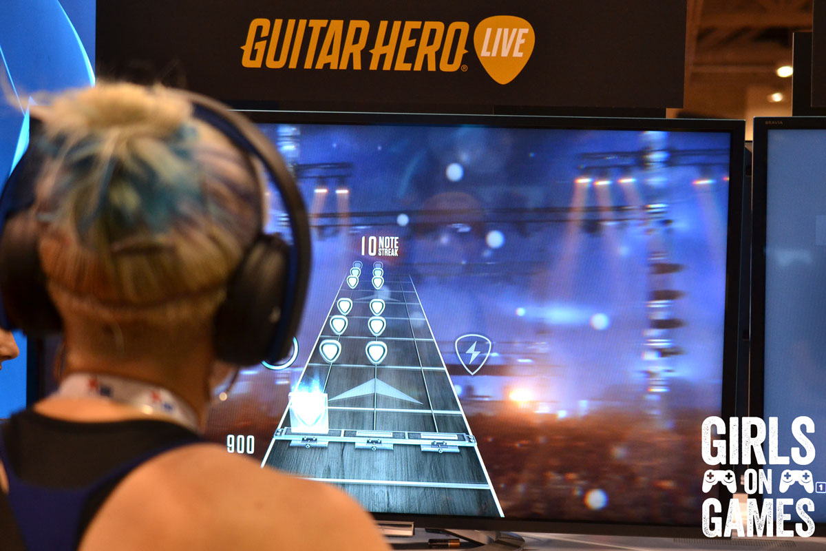 Guitar Hero Live at Fan Expo 2015