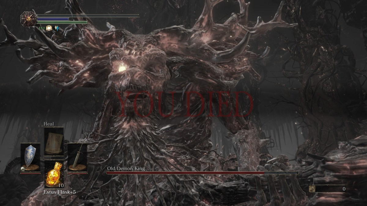 Old Demon King - Dark Souls 3 - girlsongames.ca