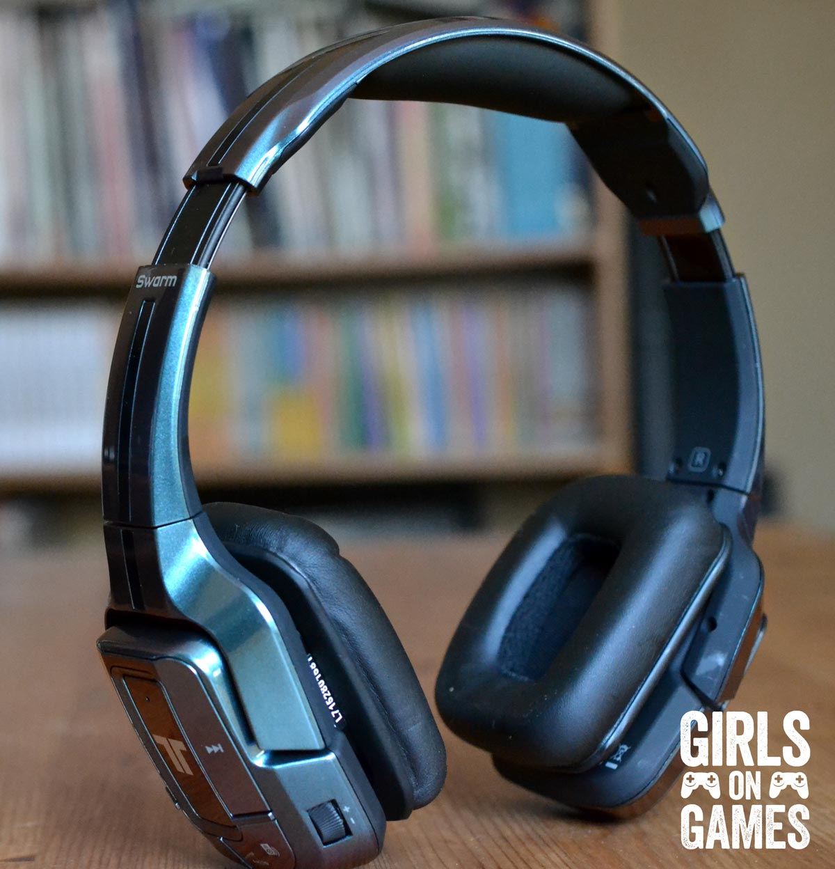 Tritton Swarm Mobile Headset. Photo © Catherine Smith-Desbiens / Girls on Games