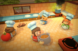 Overcooked's Crowded Kitchens