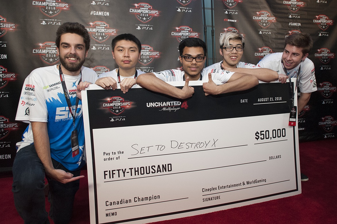 Set To Destroy - Winners of $50,000