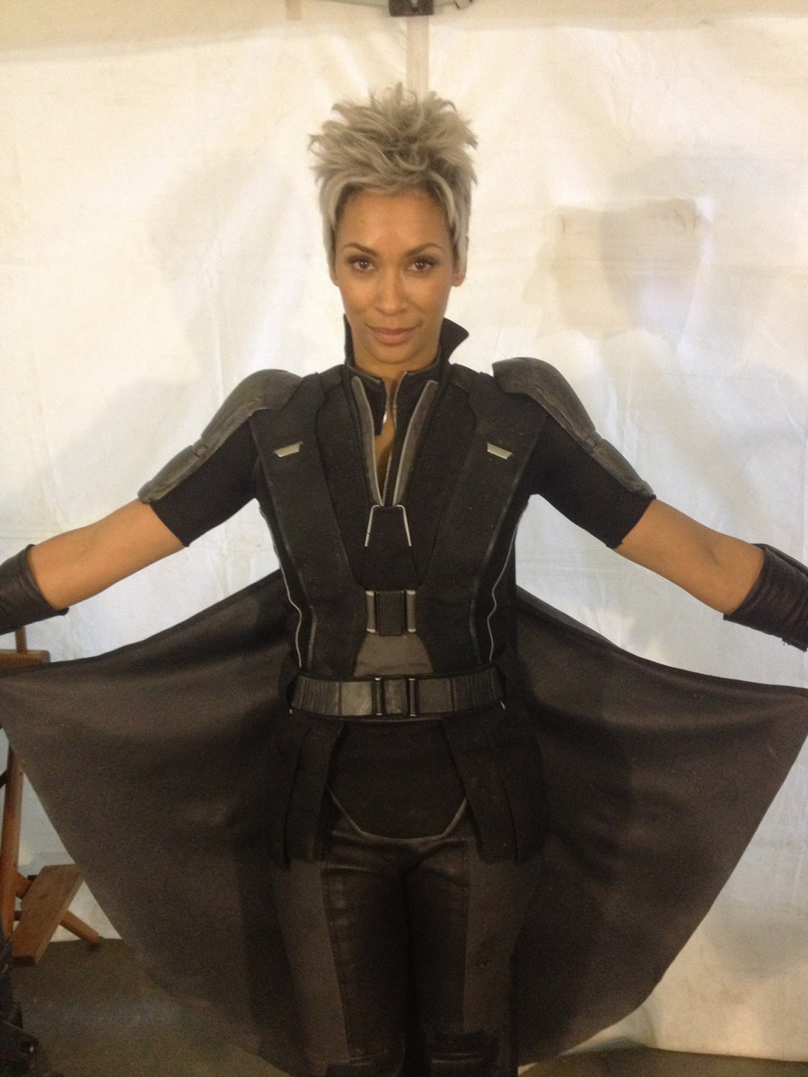 Sharlene Royer as Storm. From Sharlene Royer