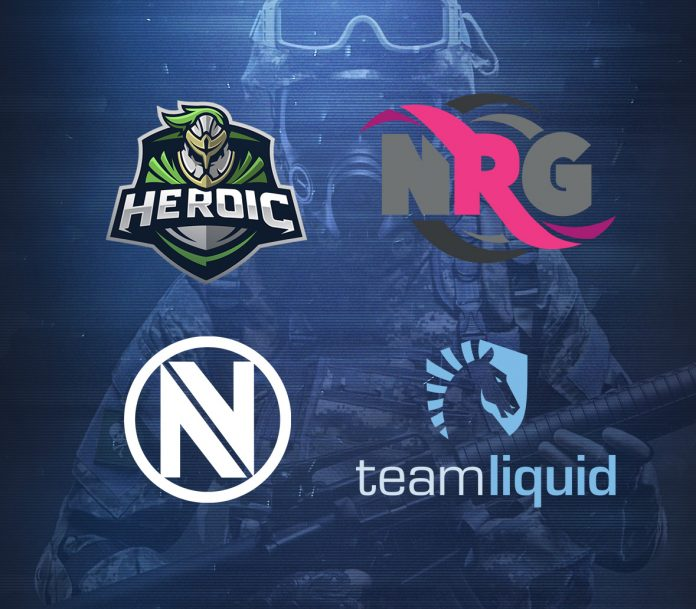 First 4 Teams Invited to Northern Arena CS:GO Montreal 2016 Finals: EnVyUs, Heroic, Team Liquid and NRG