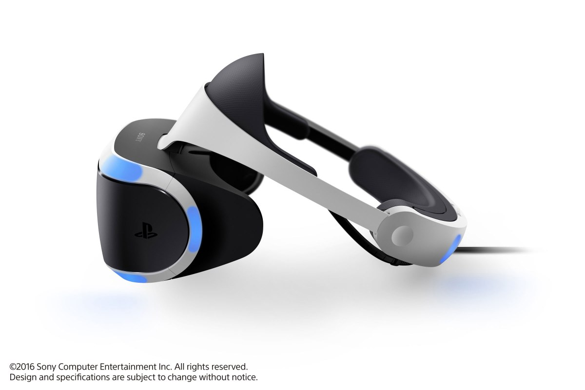 PSVR Headset. From PlayStation Canada