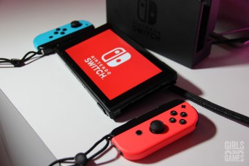 Nintendo Switch & Joy-Cons. Photo: Leah Jewer / Girls on Games