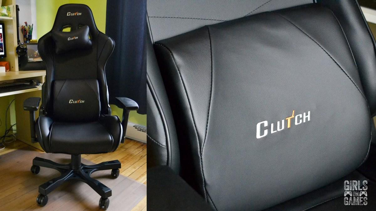 ClutchChairz Crank Series Delta Black