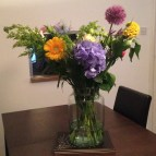My arrangement on show at home