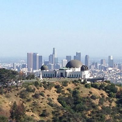 Hiking Griffith Park Observatory