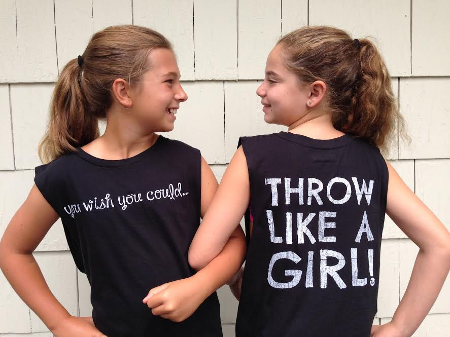 How 'Throw Like a Girl' is the 'It' Brand for Girl Athletes