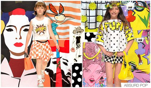 "Trend Alert! Girls Spring '15 ""Absurd Pop"""