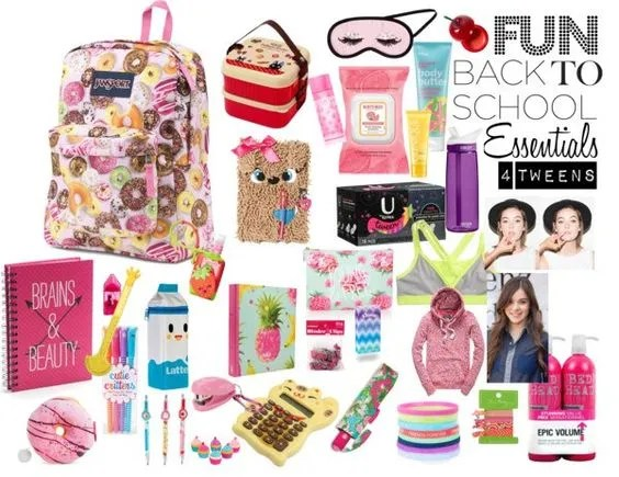 Sweet, Fun Back to School Essentials For Tweens