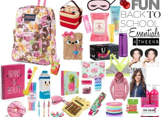 Sweet, Fun Back to School Essentials For Tweens