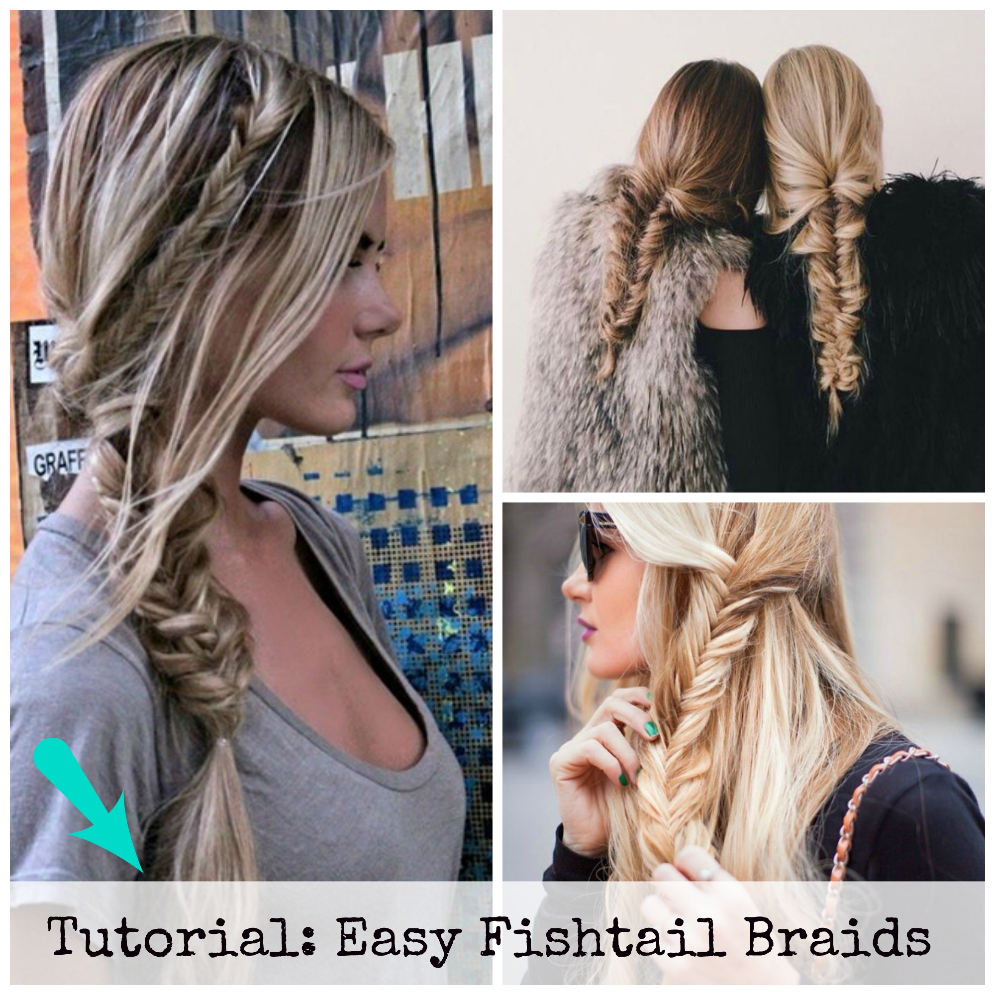 How to do a fishtail braid?