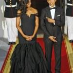 Michelle Obama, Black Mermaid Dress