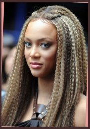 beautiful crimped hairstyles
