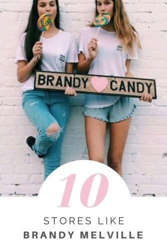 teen stores like Brandy Melville
