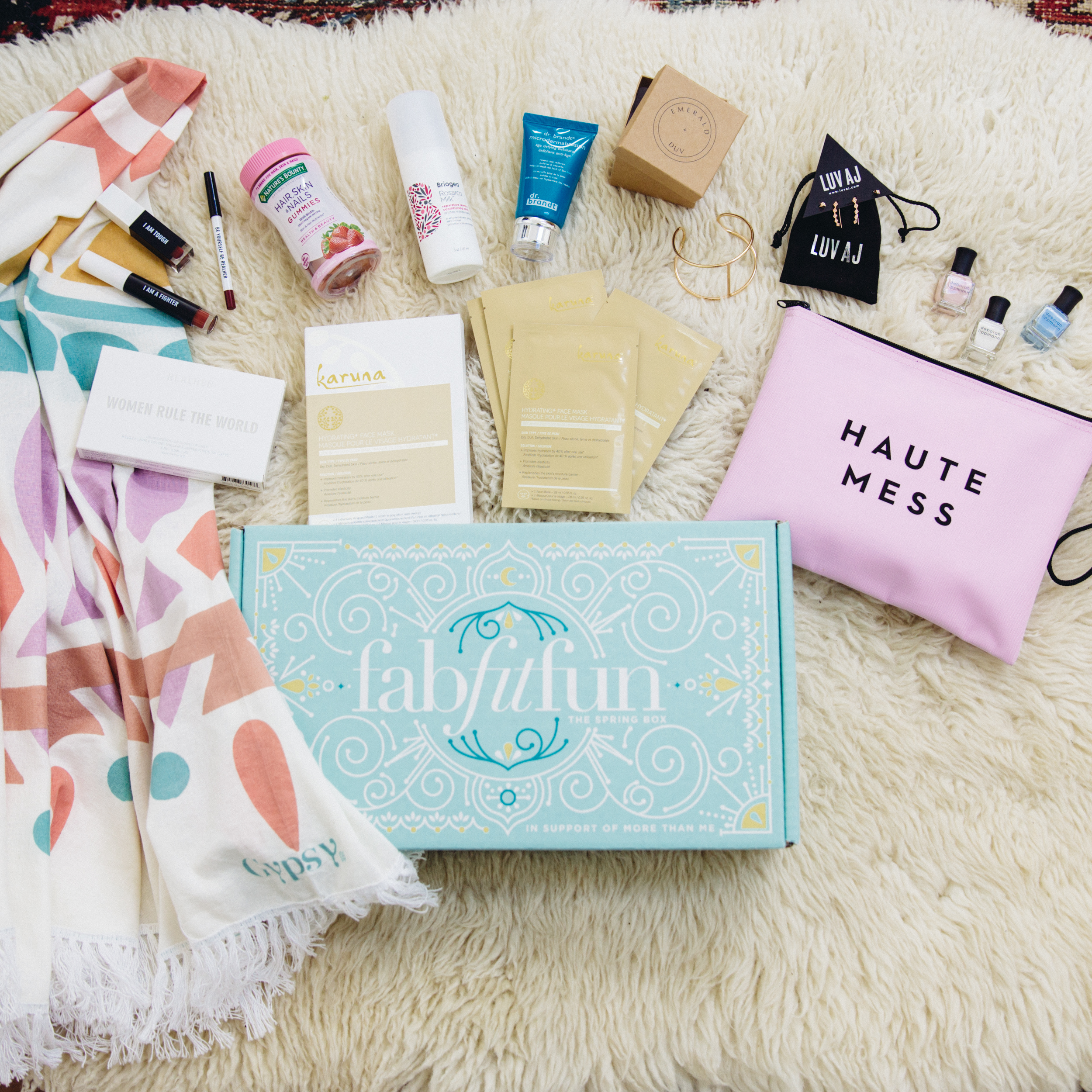 SPRING 2017 Fab Fit Fun Beauty Box + Coupon! [hint: worth it]