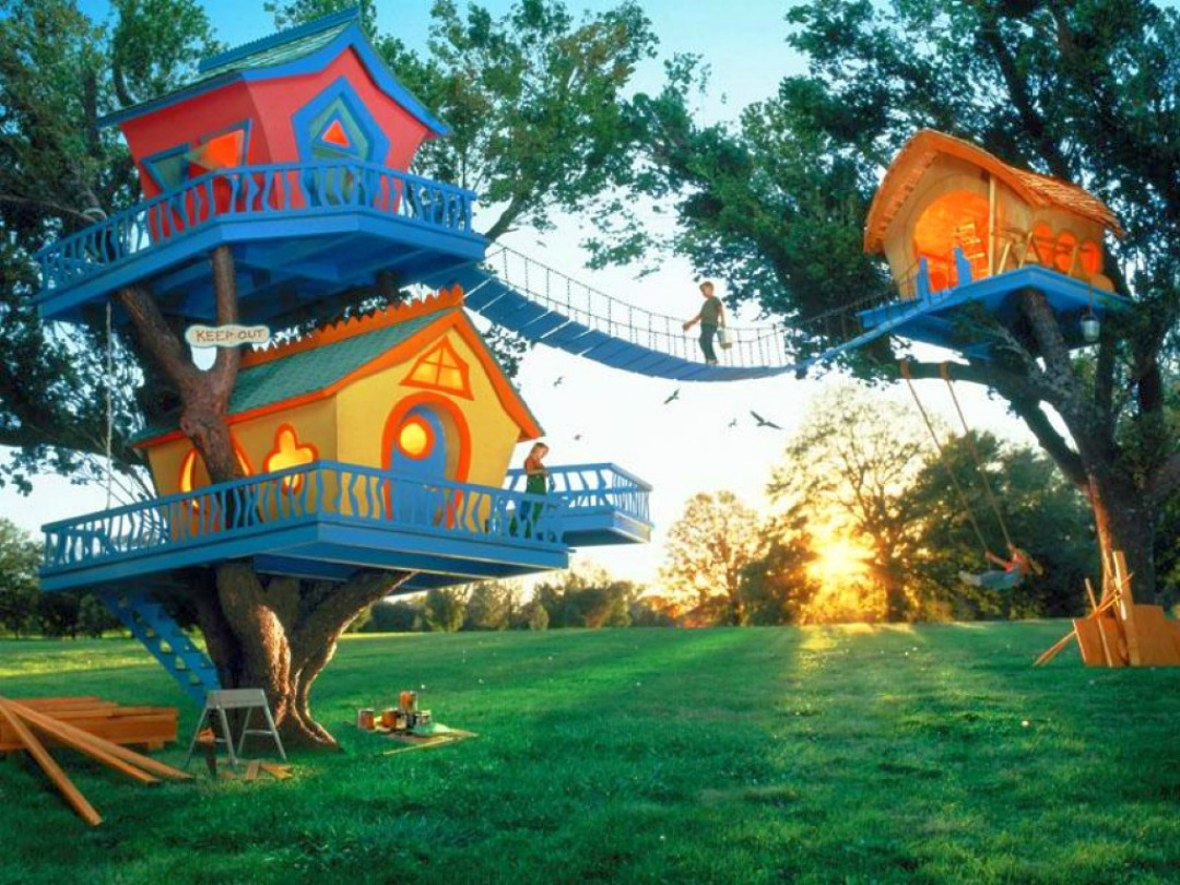 These Amazing Treehouses are Giving us Serious Kid Envy