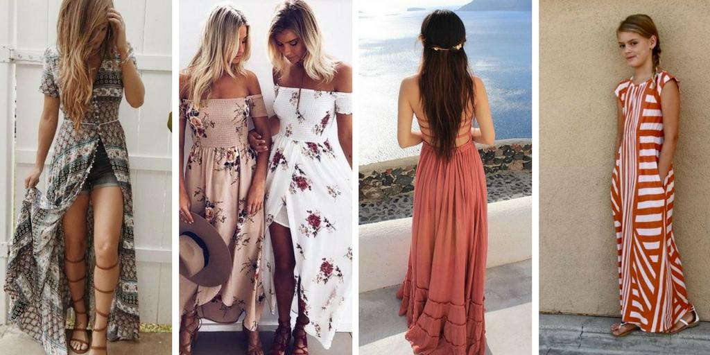 Cute Summer Maxi Dresses for Tweens & Teens | Girls Tween Teen Fashion