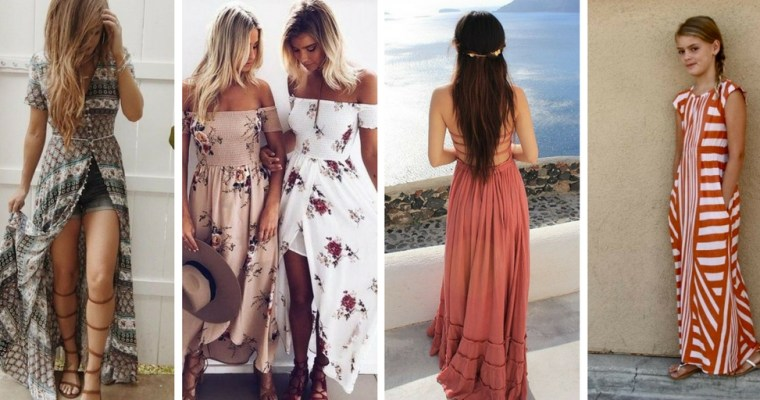 Cute Summer Maxi Dresses for Tweens & Teens