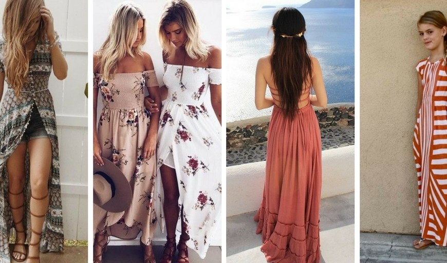 Trends for tweens, maxi dresses, dress styles, outfit ideas, girls tween fashion