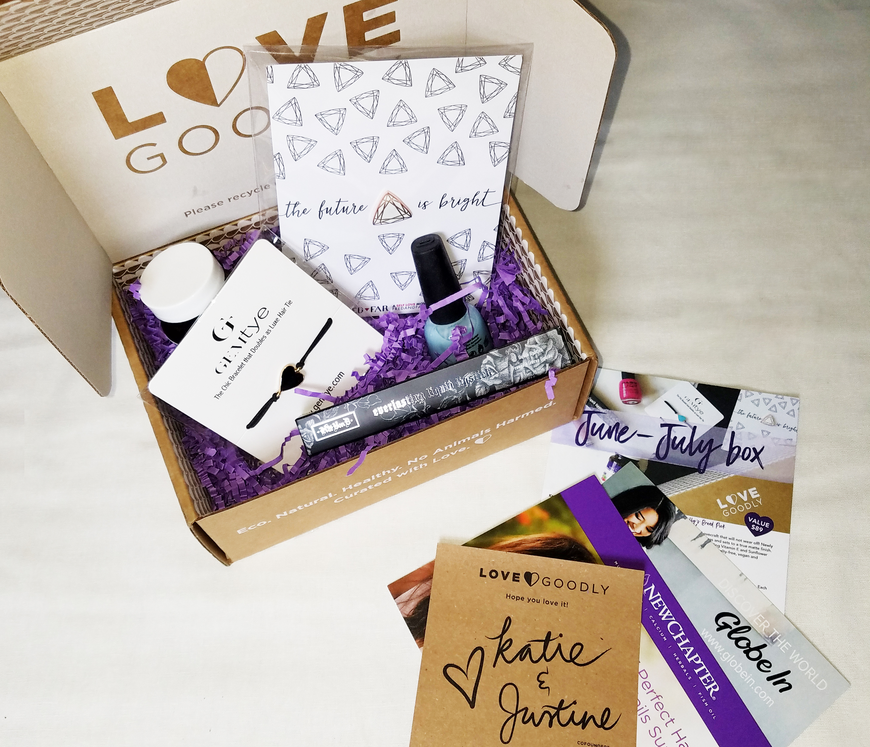Love Goodly June/July 2017 Subscription Box Review (SPOILER ALERT!) + FREE GIFT!!