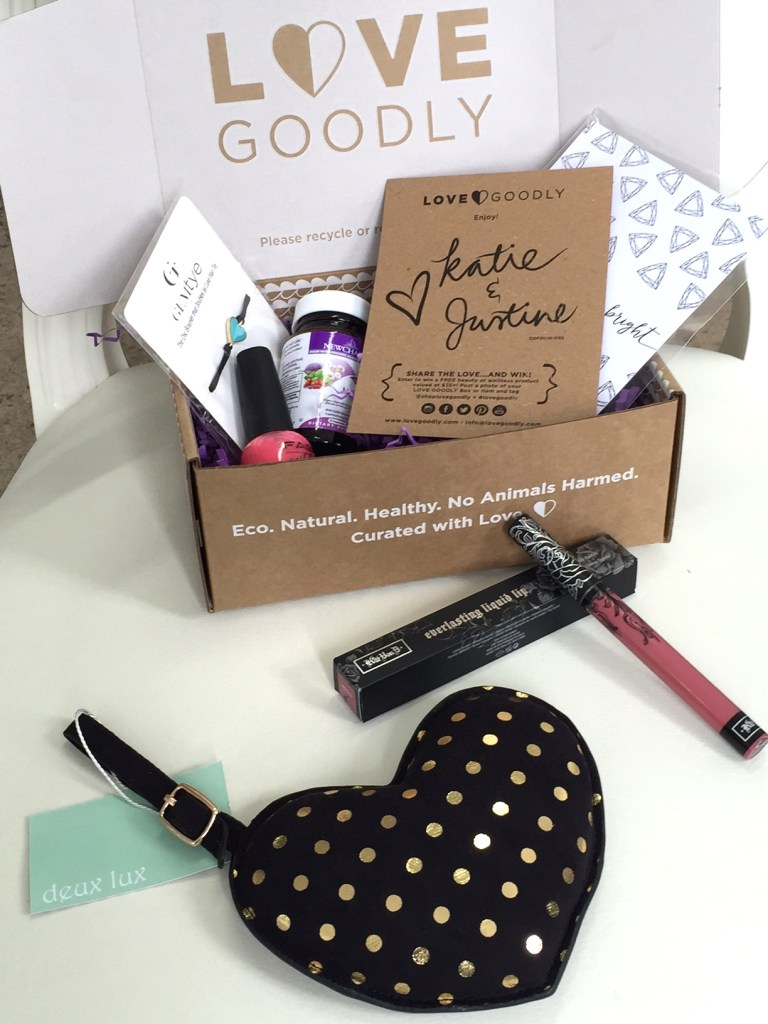 Love Goodly Box with free gift June July 17
