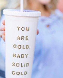 Band.do solid gold mug
