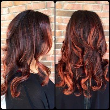 Brunette, Auburn Red