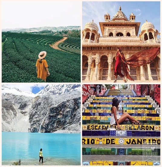 Collage Dametraveler