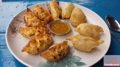 Local Nepali's dish: momo