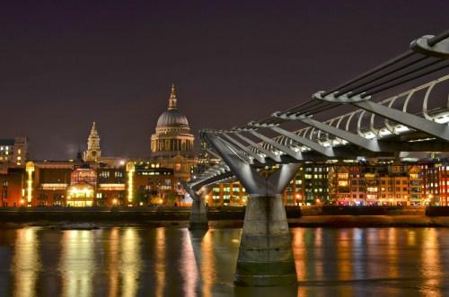 Millennium Bridge HDR