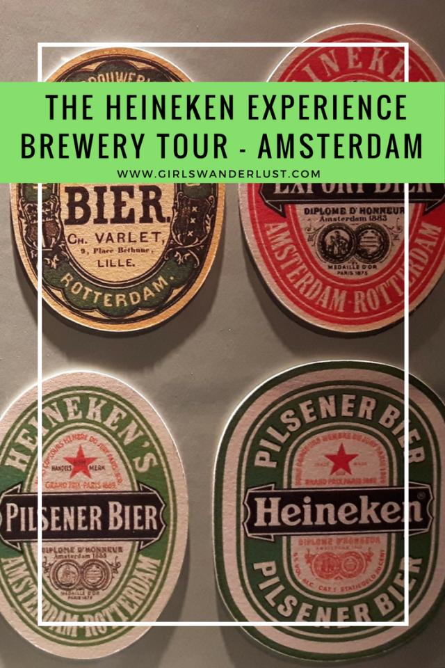 Exploring Amsterdam – the Heineken Experience Brewery Tour. #girlswanderlust #wanderlust #travel #traveling #travelling #travel #travelblog #travelinspiration #inspiration #Heineken #Heinekenexperience #Amsterdam.png
