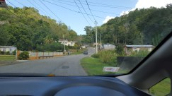 Typical 'neighborhoods' driving through the hills