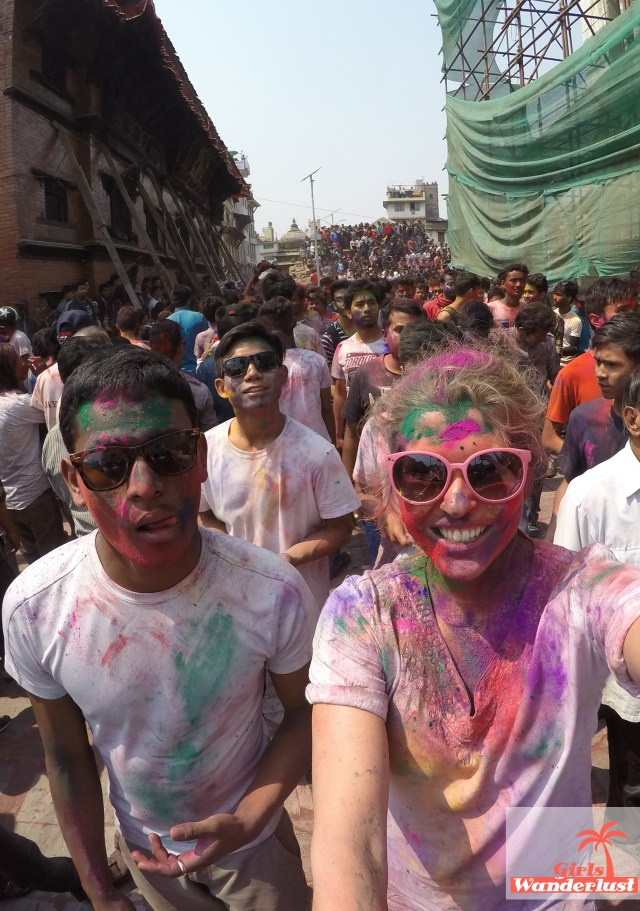Holi festival Nepal