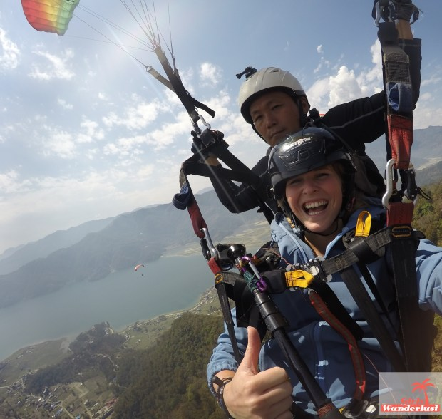 Paragliding Pokhara Nepal