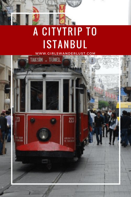 A citytrip to Istanbul