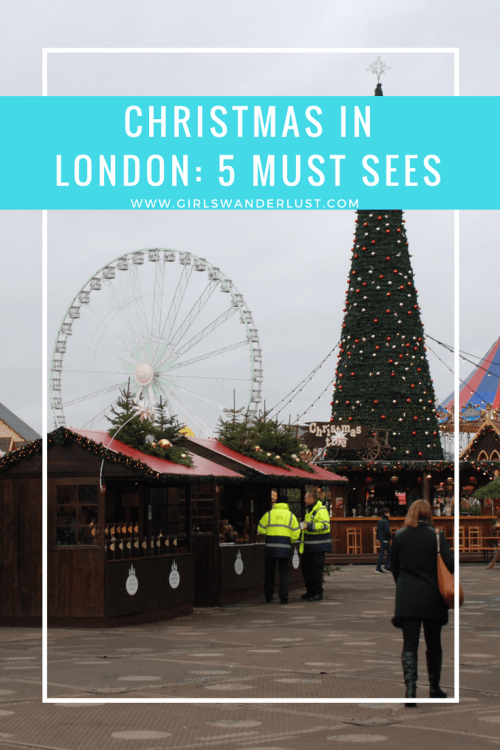 Christmas in London- 5 must sees