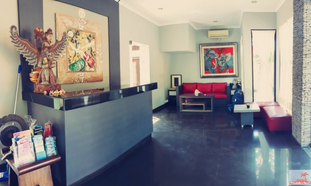 Great value for money; overnight at Sindhu Mertha Suite Sanur, Bali Indonesia by @girlswanderlust reception #sindhu #mertha #suite #bali #sanur #indonesia #asia #hotelreview #sanurbali #