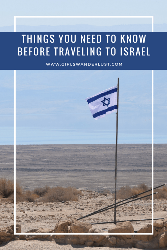 Things you need to know before traveling to Israel