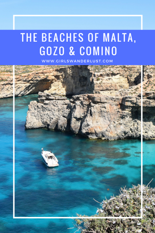 The beaches of Malta, Gozo and Comino