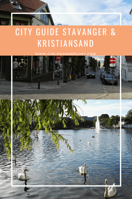 City guide Stavanger and Kristiansand