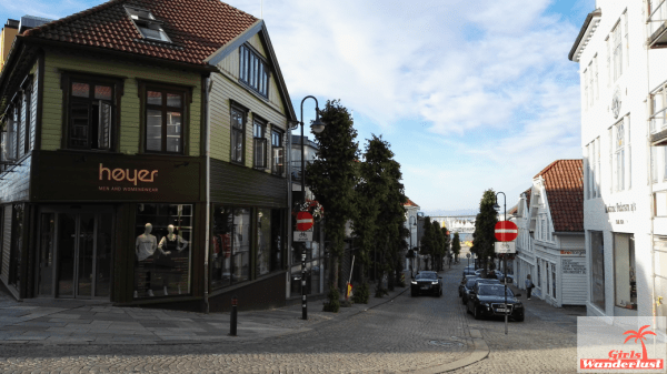 Stavanger city center
