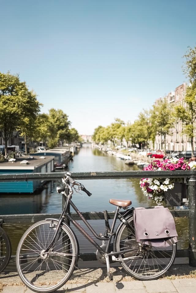 Bike in Amsterdam - Dutch culture