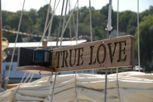 True love sailboat