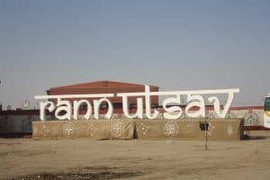 Girls Who Travel | A sign for the Rann